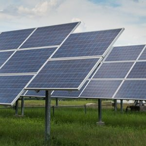 bigstock-The-Solar-Farm-For-Green-Energy